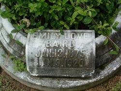 Emily <I>Love</I> Baird