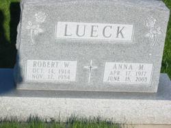 Anna M <I>Bucholtz</I> Lueck