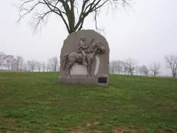 17th Pennsylvania Cavalry Monument