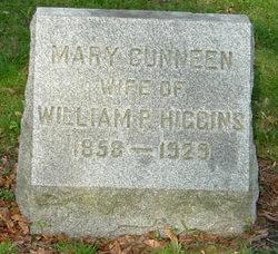Mary <I>Cunneen</I> Higgins