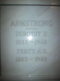 Percy A  E Armstrong