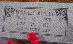 Rosa Lee Mosley