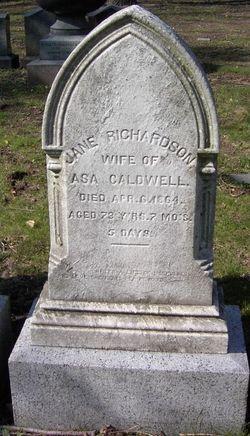 Jane <I>Richardson</I> Caldwell