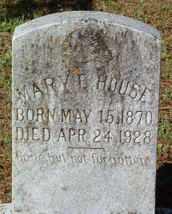Mary Elizabeth <I>Key</I> House