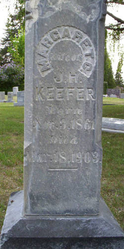 Margaret C <I>Yoe</I> Keefer