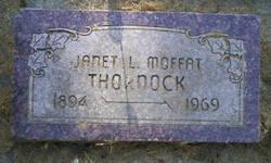 Janet Leishman <I>Moffat</I> Thornock