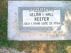 Velma Irene <I>Hall</I> Keefer