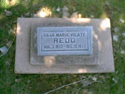 Anna Maria Vilate Redd