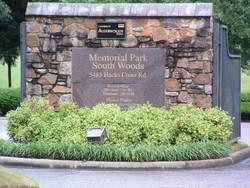 Memorial Park South Woods Cemetery