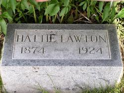 "Harriet Louise ""Hattie"" <I>Humphrey</I> Lawton"