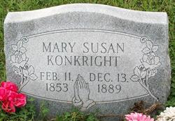 """Mary Susan """"Molly"""" <I>Haley</I> Konkright"""