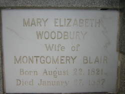 Mary Elizabeth <I>Woodbury</I> Blair