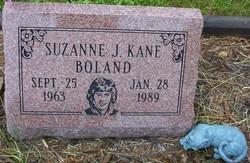 Suzanne J. <I>Kane</I> Boland