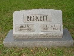 Ahas Welcome Beckett
