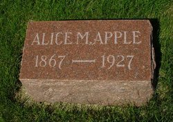 Alice Matilda <I>Worth</I> Apple