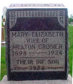 Mary Elizabeth <I>Woolfolk</I> Crosier