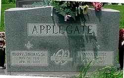 Anna Louise <I>Kunnecke</I> Applegate