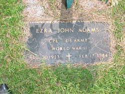 Ezra John Adams
