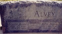 Ruth <I>Allen</I> Alvey