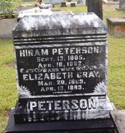 Elizabeth <I>Gray</I> Peterson