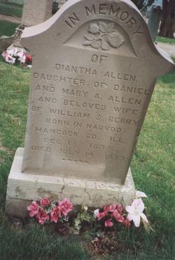 Diantha <I>Allen</I> Berry