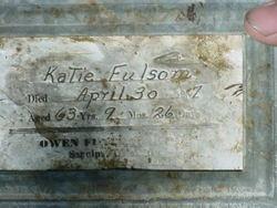 Katie <I>Fox</I> Fulsom