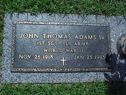 "John Thomas ""J.T."" Adams, Sr"