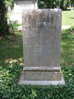 Mary Cyrene <I>Burch</I> Breckinridge