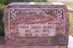 Nora <I>Davis</I> Berry