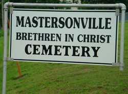 Mastersonville Brethren In Christ Cemetery