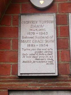 Geoffrey Turton Shaw