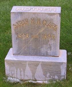 Sarah Melissa <I>Hakes</I> Clark