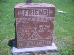 Indiana <I>Lucas</I> Friend