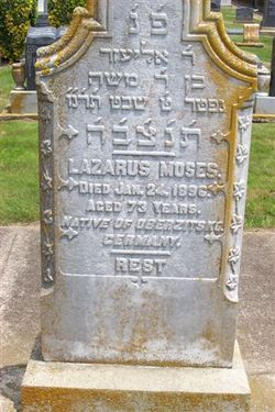 Lazarus Moses