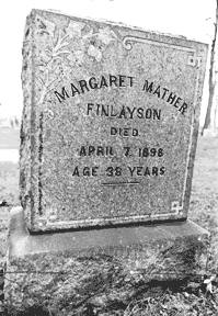 "Margaret ""MATHER"" <I>Finlayson</I> PABST"