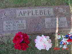 Ida Emma <I>Lundy</I> Applebee