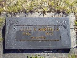 Louise K Bartells