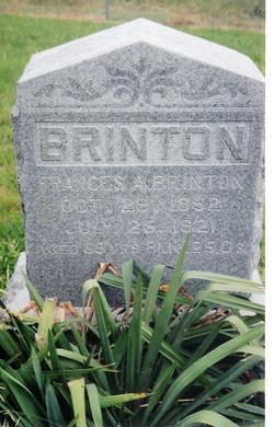 Frances A. <I>Beck</I> Brinton