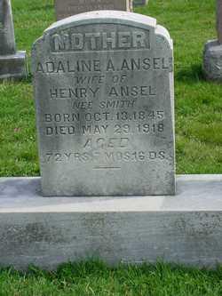 Adaline A <I>Smith</I> Ansel