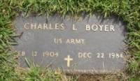 Charles L Boyer
