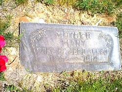 Mary Ann <I>Barton</I> Allen