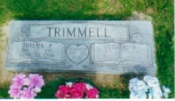 Luther and Thelma Trimmell