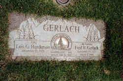 Fred H Gerlach