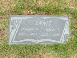 Hazel Isabella <I>Chandler</I> Annis