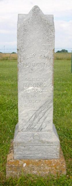 Lilly Ann <I>Hocker</I> Boone