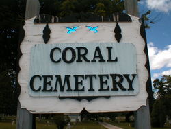 Coral Cemetery