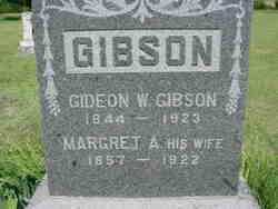 Margaret Ann <I>Beckner</I> Gibson