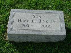 H Merle Binkley