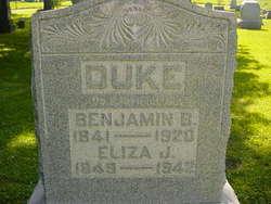 Eliza J. <I>Evans</I> Duke