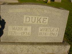 Myrtle J. <I>Jessup</I> Duke